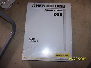 New Nh New Holland D85 Crawler Dozer Parts Catalog Manual