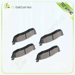 Rear Ceramic Brake Pad For 97 02 Ford Expedition 2003 2005 Lincoln Town Car