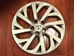 One New Wheel Cover Replacement Fits 2017 2019 Toyota Corolla 16 Inch Save 80