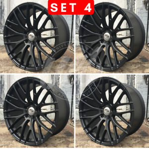 19 X 9 5 Staggered Matte Black Wheels Rims Cb 72 56 Et 35 Mm Bmw Xdrive
