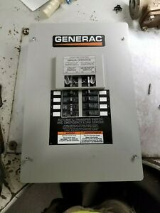 New Generac 50 Amp Manual Transfer Switch 120 240 Vac 1 Phase 3 Wire
