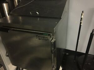 Single Door Prep Cooler