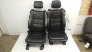 11 17 Durango Rt Black Leather Power Heat Bucket Front Seats Pair Front Rt Model