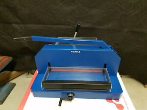 Free Ship Dahle 846 Professional Guillotine Stack Cutter Paper 500 Sheet Cap