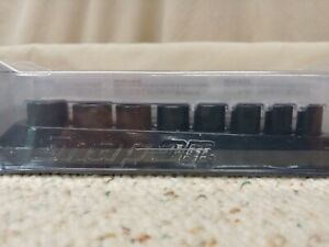 Snap On 1 4 Drive 8 15mm 6 Point Metric Shallow Impact Socket Set New