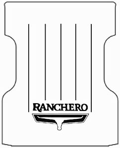 1977 1979 Ford Ltd Ranchero Truck Bed Floor Cover With F 030 Ranchero Logo