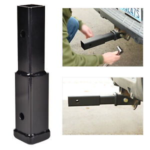8 Hitch Extension Receiver 2 Extender 5 8 Pin Hole Trailer Tow 4000lbs Us