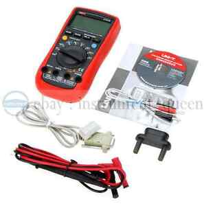Uni t Ut61b Ac Dc Voltage Frequency Multimeter Non contact Voltage Tester Mete