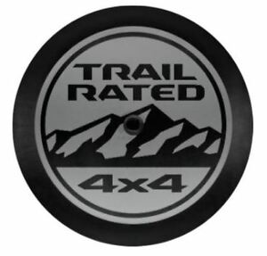 2018 Jeep Wrangler Jl Trail Rated 4x4 Vinyl Spare Tire Cover Factory Mopar New