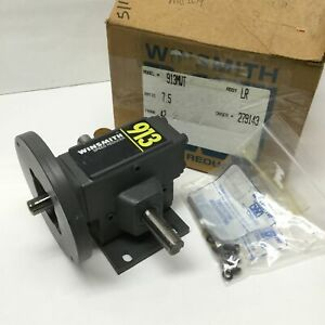 Winsmith 913mwt Worm Gear Box Speed Reducer 7 5 1 0 7hp 190 In lb 1750rpm