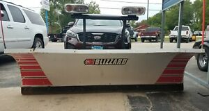 Used Blizzard 8000 Hd 8 Heavy Duty Straight Blade Snow Plow Up205