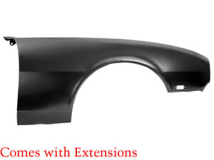 1968 Camaro Standard Std Front Fender With Extension Rh Right Hand Dynacorn