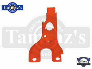 69 Camaro Sbc Lh Spark Plug Wire Tower Bracket Holder Painted Chevy Orange
