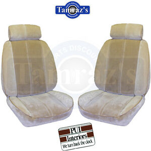 1984 1986 Camaro Front Rear Seat Upholstery Covers Deluxe Interior New Pui