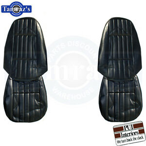 1971 1973 Camaro Standard Front Bucket Seat Covers Upholstery Pui New