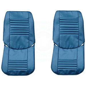 1967 Chevelle Malibu El Camino Front Seat Upholstery Covers Colors Pui New