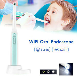 Oral Dental Wifi Intraoral Camera Endoscope Hd Wireless 8 Led Light Photo Shoot