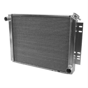 Be Cool 10016 Radiator Direct Fit Aluminum Natural Chevy Chevelle el Camino Each