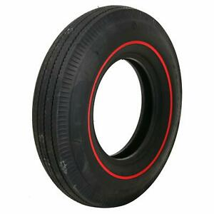 Pair 2 Coker U s Royal Tires 7 75 14 Bias ply Redline Dot Approved 53015