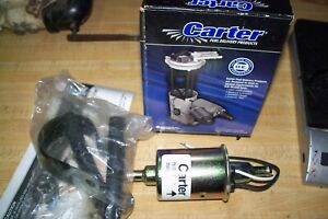Electric Fuel Pump Carter P74019 Universal Inline New Complete