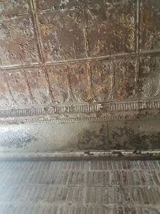 3000 Sq Ft Antique Metal Tin Ceiling Tile 24 X24 Shabby Chic Gothic Torch Recla