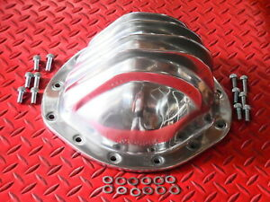 Rear End Cover Polished Aluminum Differential Cover 12 Bolt Truck Chevrolet Gmc