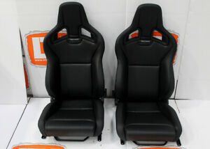 Part Leather Recaro Pair Of Heated Front Seats Fits Land Rover Defender 90 110