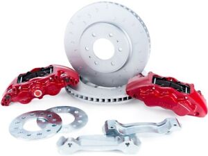 Alcon Rotors 4 Piston Red Calipers Rear Brake Upgrade Kit For 2010 Ford F 150