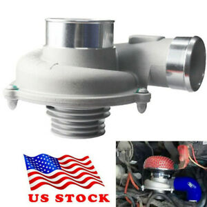 Car Electric Turbo Supercharger Air Filter Intake Improve Speed Fuel Saver Us
