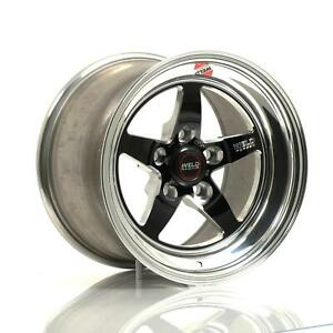 Weld Rts Forged Alum Blk Anodized Wheel 15x10 275 5x4 5 Bc Pr 71mb510a65a 2