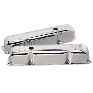 Summit Racing Chrome Valve Covers G3331 Fits Chrysler Big Block Rb