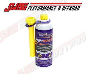 Royal Purple Fuel Additive Octane Booster Fuel Treatment Cleans Injectors