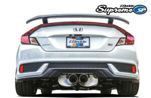 Greddy Supreme Sp 2017 2019 Honda Civic Si Coupe Catback Exhaust System