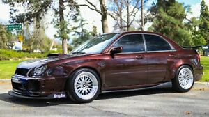 Battle Aero Wide Body Kit For 2002 2003 Subaru Impreza Wrx Bug Eye