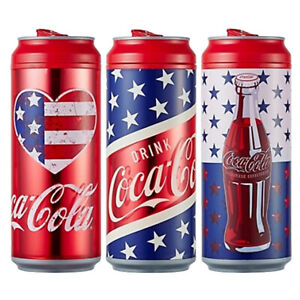 Coca Cola Coke Water Can Bottle Tumbler Chiller BPA free Portable Cup 473ml 16oz