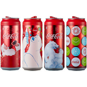 Coca Cola Coke Water Can Bottle Tumbler Chiller Portable Cup BPA free 473ml 16oz