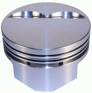 Dss Racing Pistons Forged Flat 4 060 In Bore 383 Chevy Set Of 8