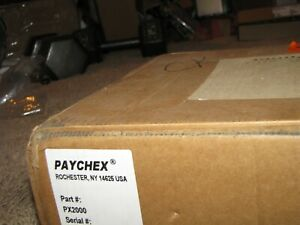 New paychex Px2000 Time And Attendance Biometric Clock Open Box