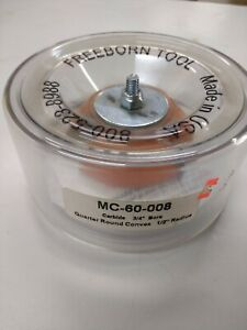 Freeborn Mc 60 008 Carbide Quarter Round Convex 1 2 Radius Shaper Cutter New