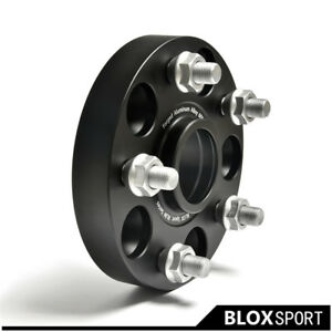2pcs 1 Inch 5x4 5 To 5x114 3 Cb66 1 Wheel Spacers Adapters For Nissan 200 Sx