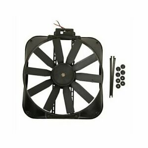 Summit Racing Electric Fan 2 050 Cfm Pusher 16 Dia Single G4909