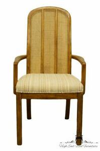 Drexel Heritage Contemporary Style Cane Back Dining Arm Chair 965 730