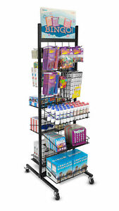 Rolling Retail Display Rack Brybelly Rfix 001