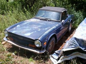 Tr 6 Complete Car That Needs Restoration
