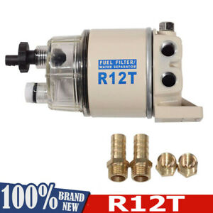 R12t 120a Fuel Filter Water Separator Spin On Replacement Element For Racor