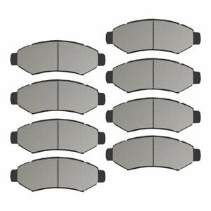 Front Rear Ceramic Pads Fit 2003 2004 2005 2006 Ford Expedition Navigator New