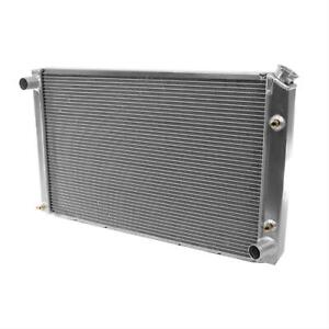 Be Cool Radiator Direct fit Aluminum Natural 33 Wide 19 High 3 Thick Each
