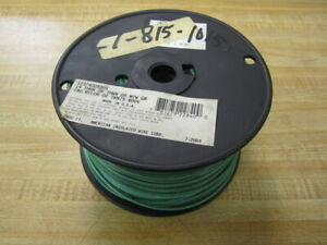 American Insulated Wire 1237400500s Green 14 Thhn 500ft