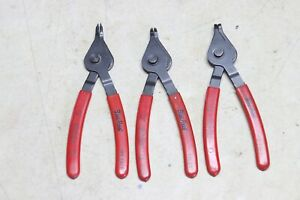 Blue Point 8 Inch Retaining Snap Ring Plier Set Usa