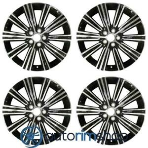 Volvo S60 V60 2019 18 Oem Wheel Rim Set